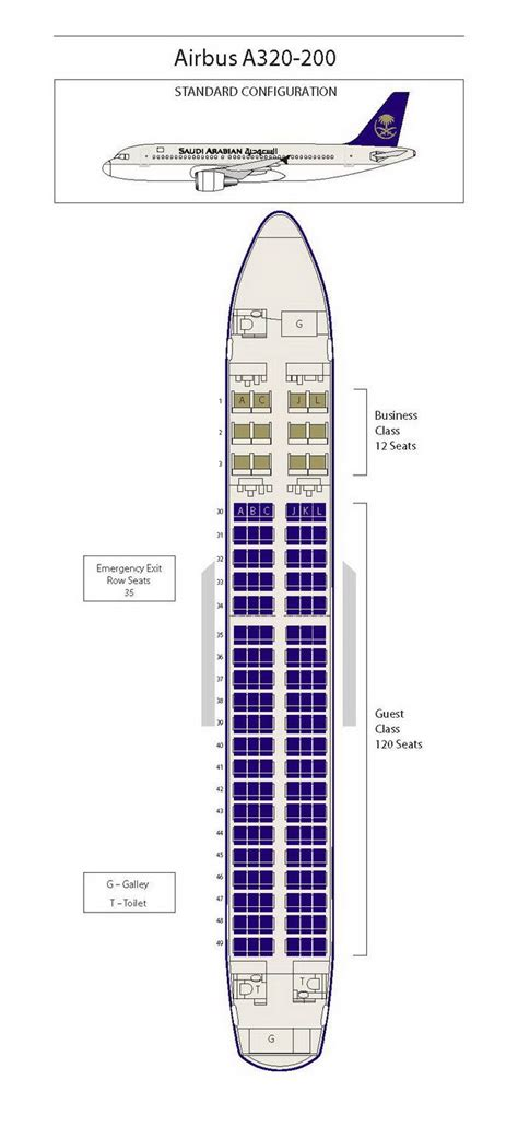 charter seating chart saudi arabian airlines airbus a320 200 aircraft seating