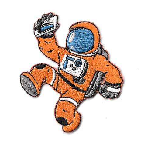 Iron Patches Patchwork Patch Emblem Sticker Bordir 18 neil the astronaut iron on patch pewpewpatches