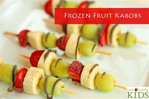 Eat In Kitchen Ideas by Frozen Fruit Kabobs Healthy Ideas For Kids