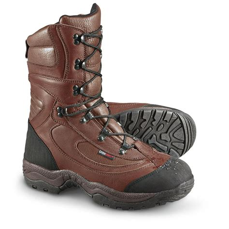 guide gear mens sports hunting boots 1200 gram men s guide gear 174 guide dry 174 2 000 gram thinsulate ultra