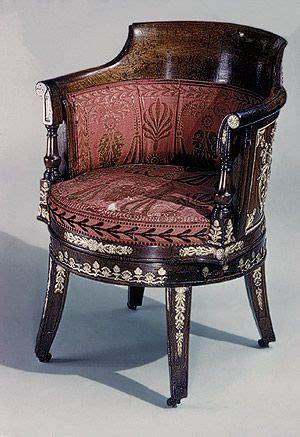 Chaise De Bureau 1815 empire style 1800 1815 antique list