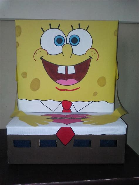 spongebob box spongebob squarepants s day box by handcrafted