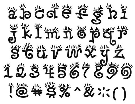 tipos de letras abecedario titulo 2jpg best 25 tipos de letras bonitas ideas on pinterest