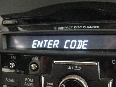 honda radio code unlock radio codes calculator honda radio code calculator