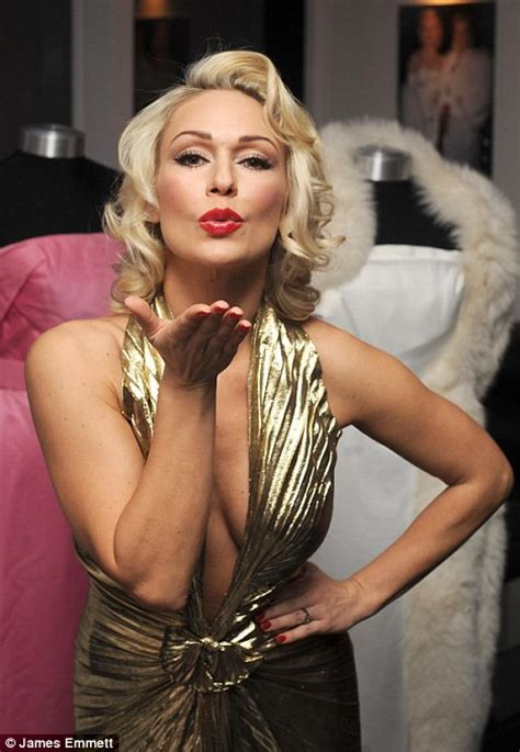 Curtain Dancing Kristina Rihanoff Dresses As Marilyn Monroe At Dressing