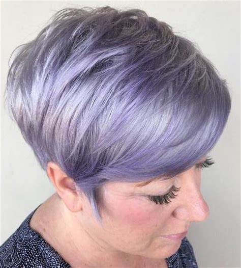 elderly hair styles with purpke 2017 short hairstyles for older women new haircuts to