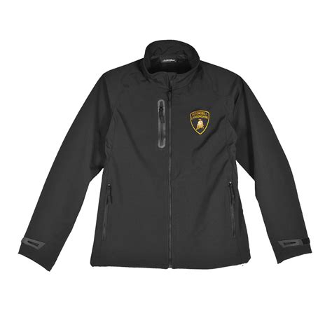 lamborghini s racing team softshell zip up jacket ebay