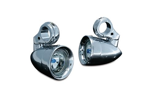 motorcycle highway bar led lights engine guard mounted driving lights headlights driving