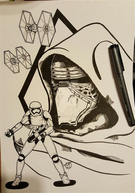 kylo ren and the first order stormtroopers coloring page kylo ren and the first order by sithlord151 on deviantart