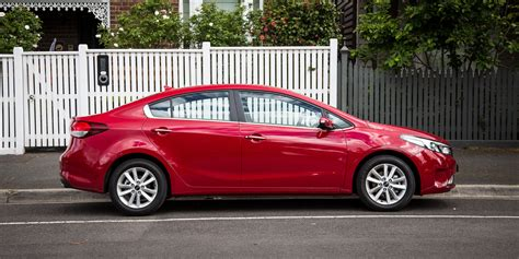 Kia Cerato Coupe 2017 Kia Cerato Si Sedan Review Caradvice