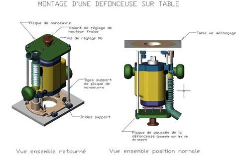 Table Pour Défonceuse 1668 by Table De D 233 Fon 231 Age Fa 231 On Sandwich Forum Outillage