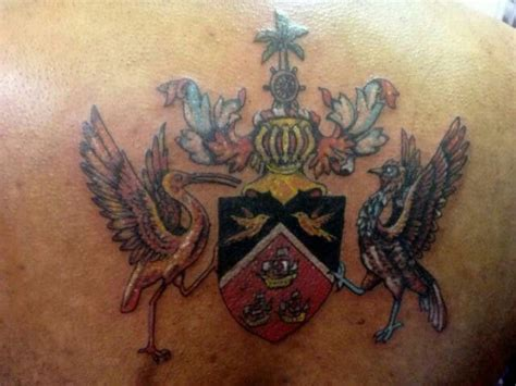 trinidad tattoos and tobago crest these tats tattoos