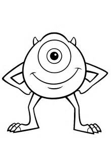 monster coloring pages coloring pages print