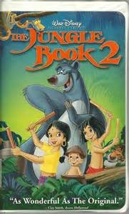 jungle book 2 vhs disney animated vhs tapes