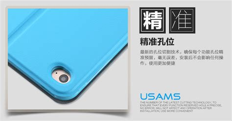 Usams Victor 360 Leather Stand Flip Cover Air 2 usams apple air 2 360 degree rotatable luxury