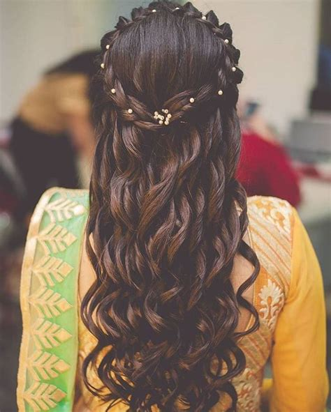 Easy Indian Wedding Hairstyles For Hair by Top 30 Most Beautiful Indian Wedding Bridal Hairstyles For