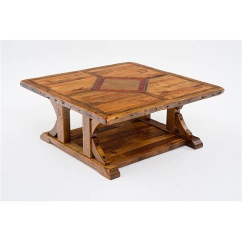 48 coffee table mustang 48 x 48 coffee table green gables