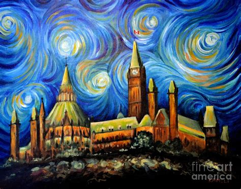 paint nite kanata ottawa starry painting by arash kameli