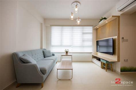 HDB Living Room Design & Ideas in Singapore   HDB Living