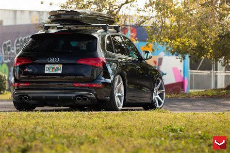 Audi Sq5 Wallpaper by Vossen Wheels Audi Sq5 Black Tuning Cars Wallpaper