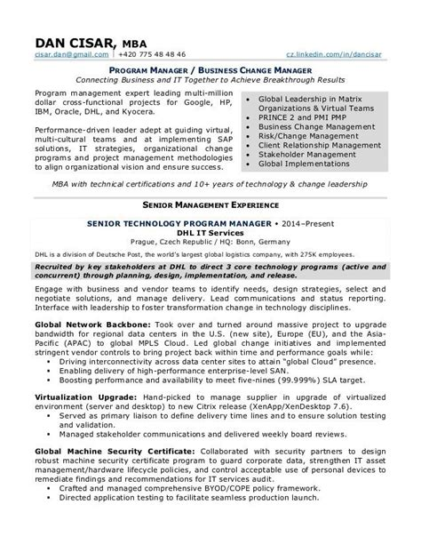 change management resume best resume for you