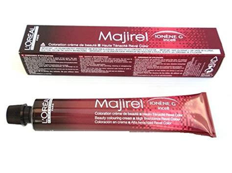buy l oreal professionnel majirel permanent creme color ionene g incell 4 15 4brv in cheap price l oreal professionnel majirel ionene g incell permanent creme color 8 1 8b buy in uae
