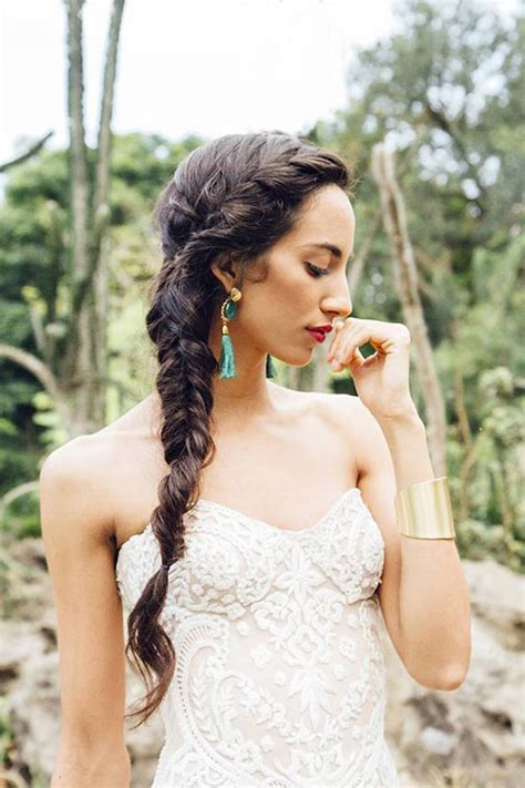 Wedding Hairstyles With Braids For Bridesmaids by 30 Bridesmaid Hairstyles Your Friends Will Actually