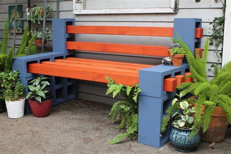 Patio Block Bench by Diy Cinder Block Bench Outdoor Patio Seating