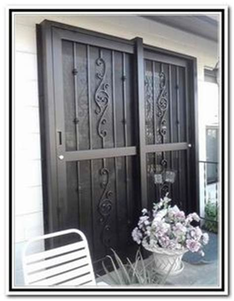 Iron Patio Doors by Most Popular Sliding Window Grill Design Of Wrought Iron