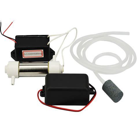 Mesin Air Pembersih Ac 1 set portabel generator 220 v 500 mg h ozon pembersih