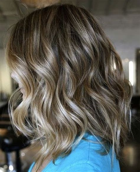 medium length hair with ombre highlights 25 inspirational medium curly hairstyles for every day