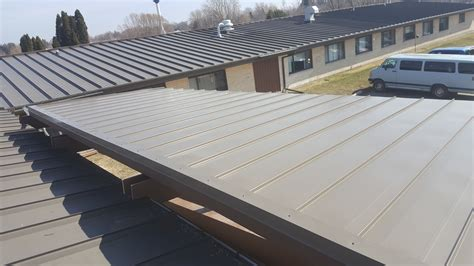 standing seam roof section paramount roofing siding llc standing seam roof