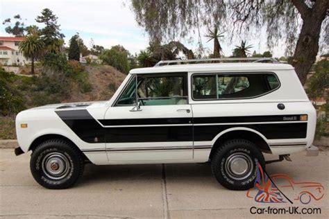 sle of xhtml code 1974 international scout ii 100 rust free california rig 345 v8 auto ac 14 900