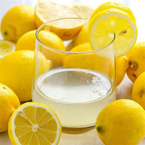 lemon water good   liver