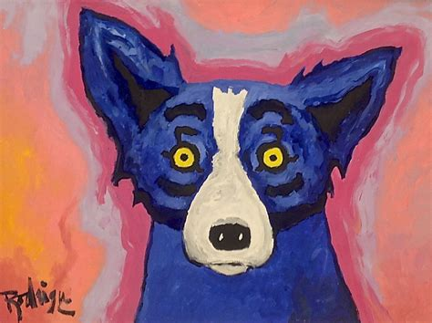 george rodrigue blue george rodrigue blue