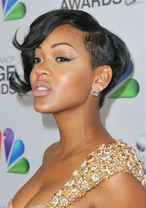 Pictures Of Meagan Good Hair 2014 | 2014 meagan good s short hairstyles trendy haircut for