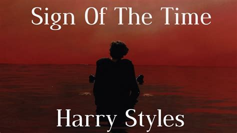 A Sign Of The Times harry styles sign of the times lyrics
