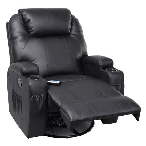 Heated Recliner by Convenience Boutique Ergonomic Heated Recliner Sofa Chair Deluxe Lounge Executive With