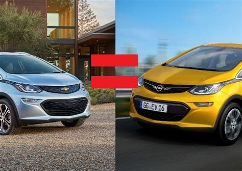 chevy bolt heads to europe wearing an opel badge the