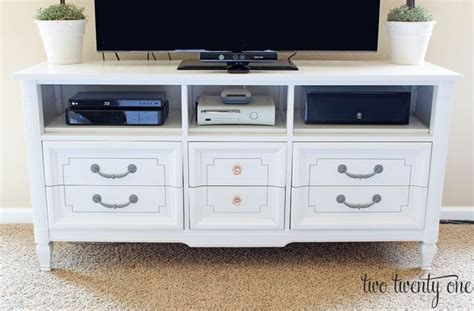 Turn Dresser Into Tv Stand by Turn A Dresser Into A Tv Stand Home