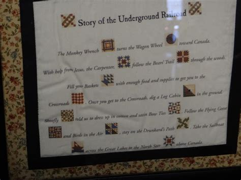 Underground Railroad Quilt Symbols by The Gallery For Gt Underground Railroad Symbols And Meanings