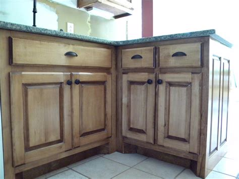 How To Stain Wood Cabinets In Kitchen