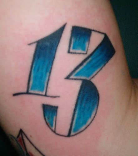 number 13 tattoo 13 tattoos of the number 13 wallpaper hungama