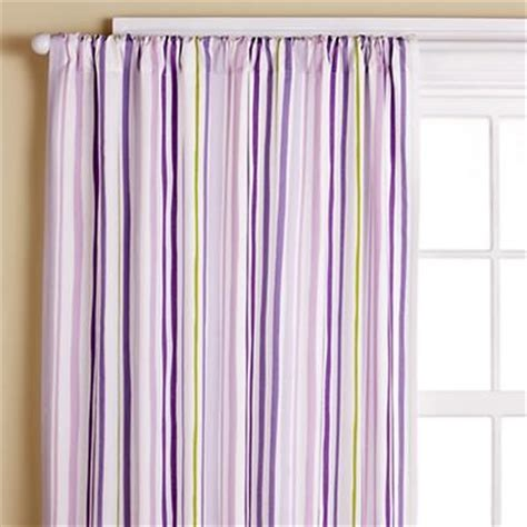 Purple And Green Valance purple and green striped curtains window treatments