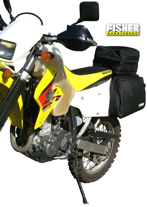 Suzuki Drz400 Accessories Fisher Saddlebags Suzuki Drz 400 Seat Rack Luggage