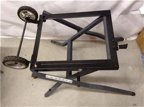 Table Saw Wheels by Craftsman Folding Stand For Table Saw Quot With Wheels Quot Fits