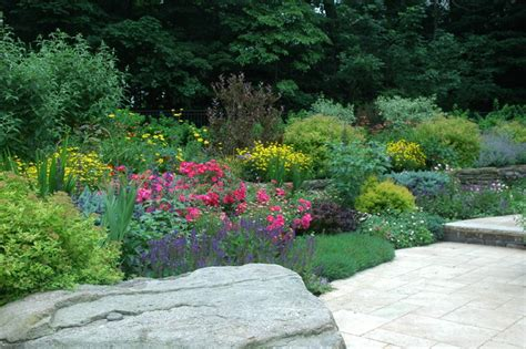 Garden Border Planting Ideas Mixed Border Planting Traditional Landscape New York By Mierop Design