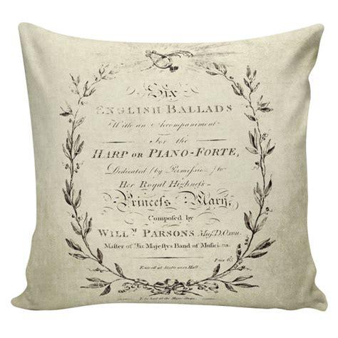 french pillows home decor throw pillow burlap pillow french decor by elliottheathdesigns