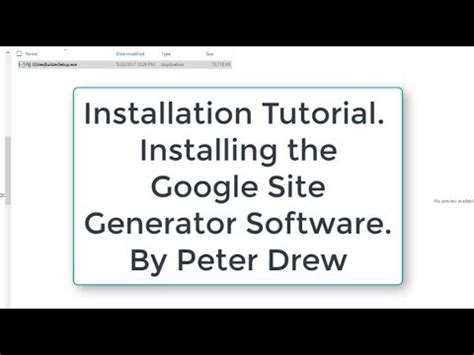 website tutorial generator site generator software installation tutorial youtube