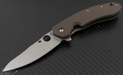spyderco s spyderco other southard s e flipper knife 3 44in